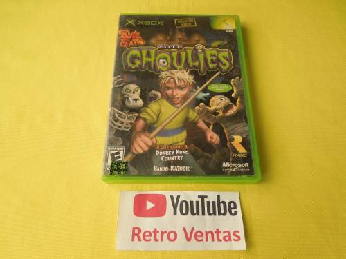 Grabbed by the ghoulies xbox clasico *compatible xbox one*