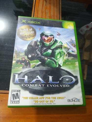 Halo combat evolved xbox clasico bueno, bonito y barato.