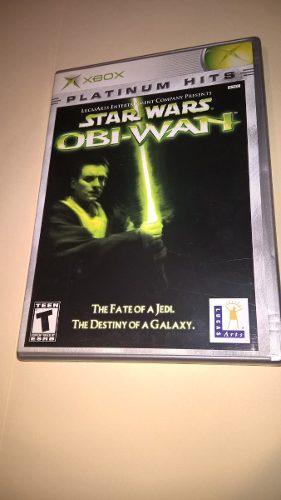 Juego xbox star wars obi wan