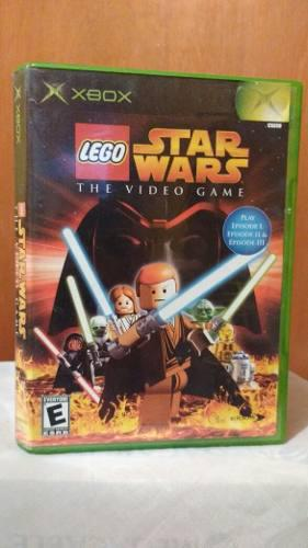 Lego star wars the videogame (co manual) xbox comp 360 od.st