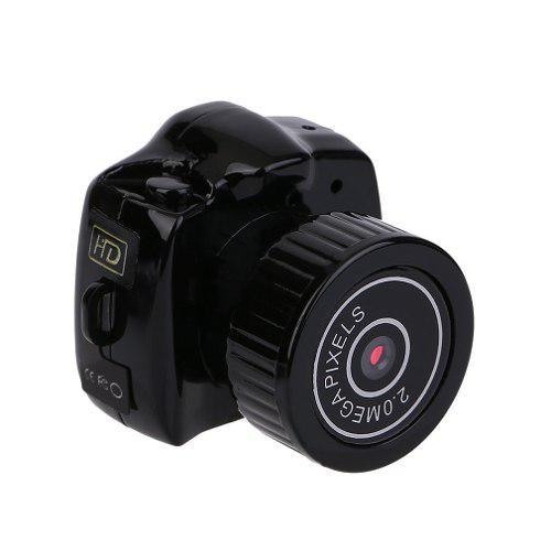 Más Pequeño Mini Cámara Videocámara Audio Vídeo Grabado