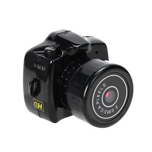 Pequeño mini cámara completo hd videocámara audio vídeo