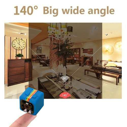 Sq11 Mini Cámara Coche Dvr Completo Hd 1080p Videocámara I