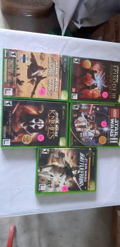 Star wars lote de videojuegos xbox clasico