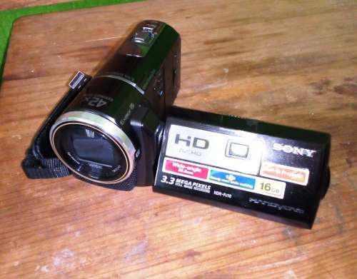 Videocamara sony con proyector integrado