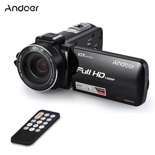 Videocámara digital andoer color1 1080p full hd