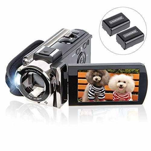 Videocámara kicteck full hd 1080p 15fps 24mp con 2