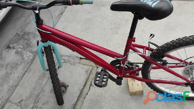 Bicicleta de montaña r24 para dama