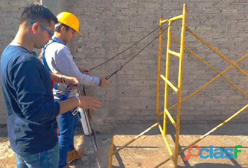Curso seguridad en trabajo en alturas