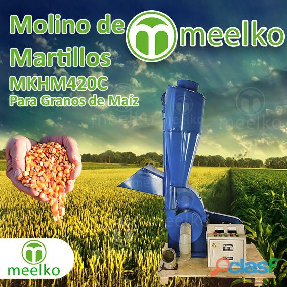 Molino de martillos mkhm420c para granos de maiz