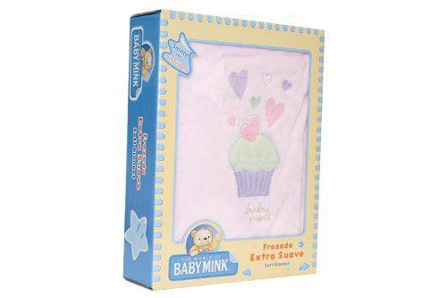 Baby mink frazada extra suave