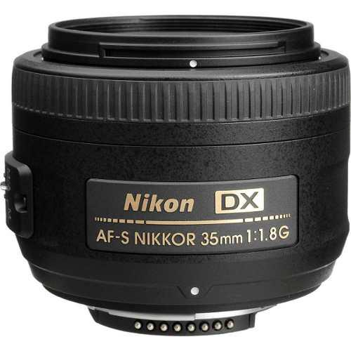 NIKON AF-S DX NIKKOR 35MM F/1.8GNUEVO segunda mano  México (Todas las ciudades)