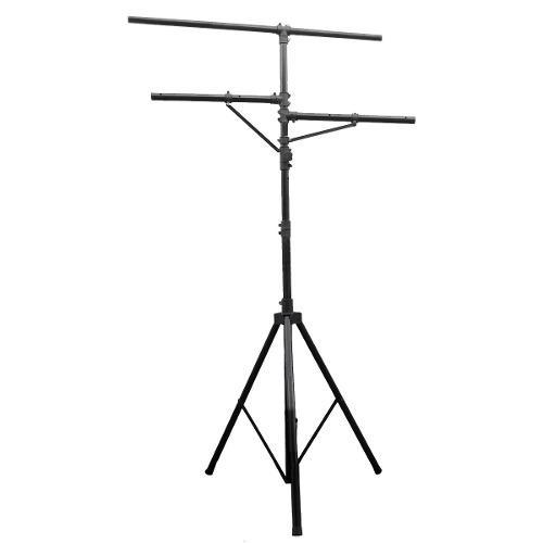Stand tripie pedestal para luces profesional 3.30m de altura