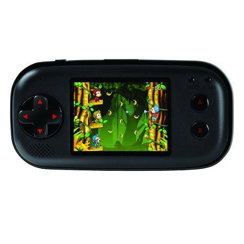 Consola portatil 220 juegos 16 bits dgun-2580 ibushak gaming