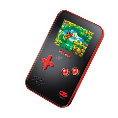 Consola portatil 220 juegos 16 bits dgun-2891 ibushak gaming