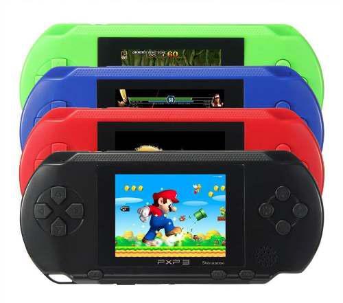 Consola portatil pxp3 juegos clasicos nes sega +150 - t175