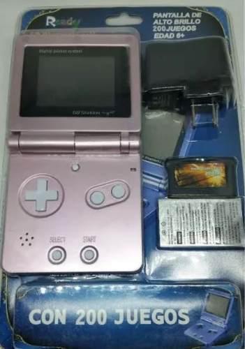 Consola portátil gb station ligth 200 juegos te463