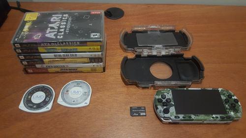 Psp (playstation portable edición especial coleccionista)