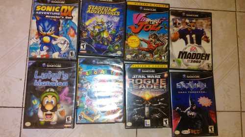 Lote juegos gamecube