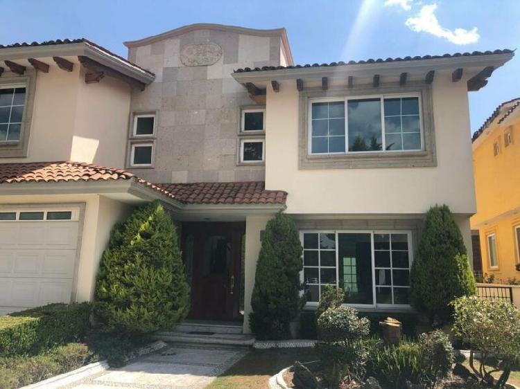 Casa en venta en residencial la providencia, metepec, estado