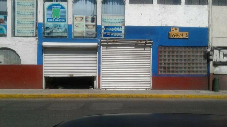 Locales en renta en el centro de metepec con vista directa a