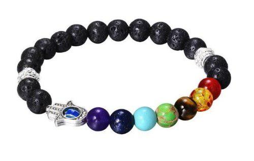 8028791868c5 Mayoreo pulseras chakras ajustables energia yoga hechas mano
