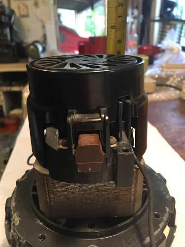 Motor turbina aspiradora vacio 1hp 220v ametek
