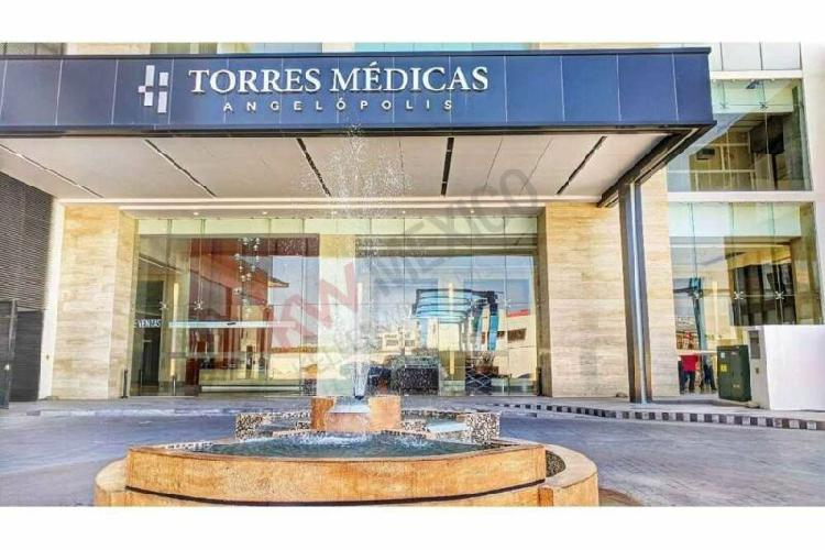 Renta de consultorio en torres médicas i, ciudad judicial,