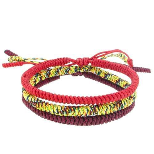 Set pulseras de la suerte tibetanas y protección 1370010000