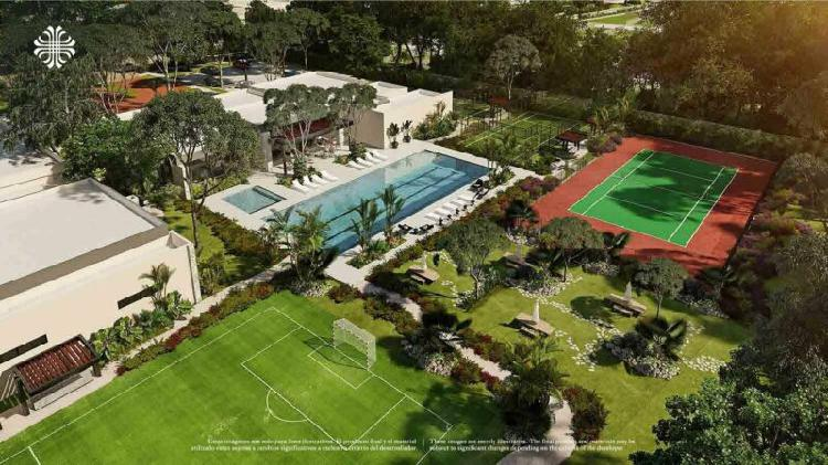 Terrenos con club deportivo en zona residencial