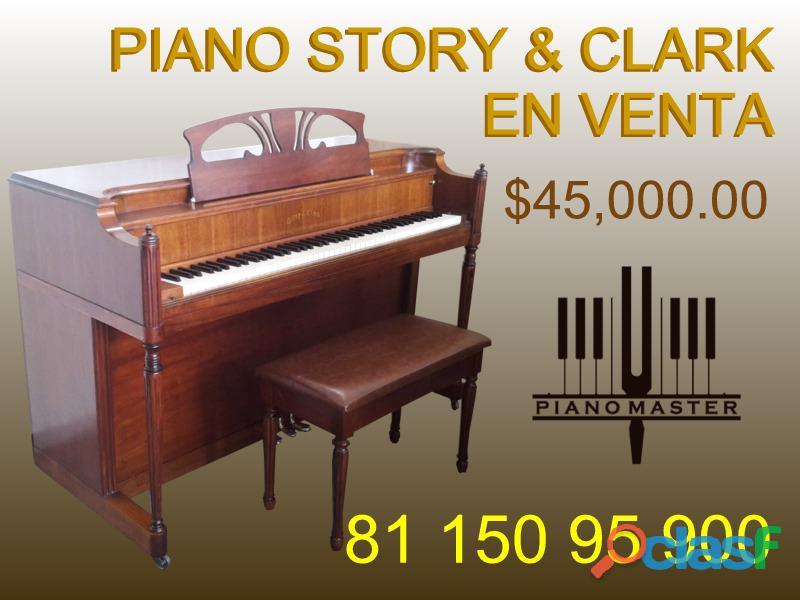 "Piano Story & Clark espineta 37"", Grand Haven, Michigan, EUA"