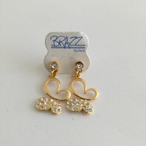 Aretes de oro laminado 18k mayoreo y menudeo cód: lzl33.3