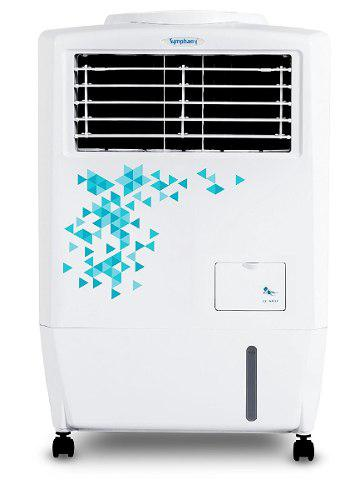Enfriador y purificador de aire portátil symphony 17 litros