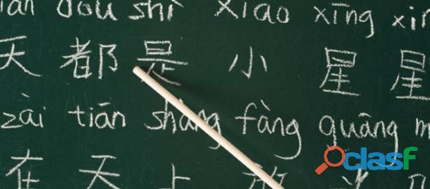 Cursos de mandarín, japonés y coreano