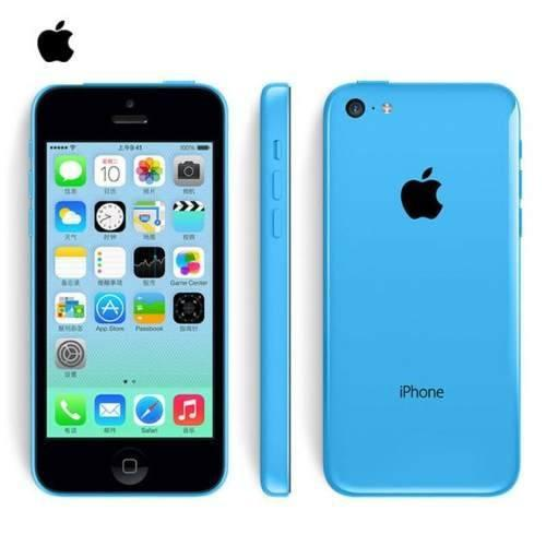 Apple iphone 5c 16gb original libre de fábrica azul wifi