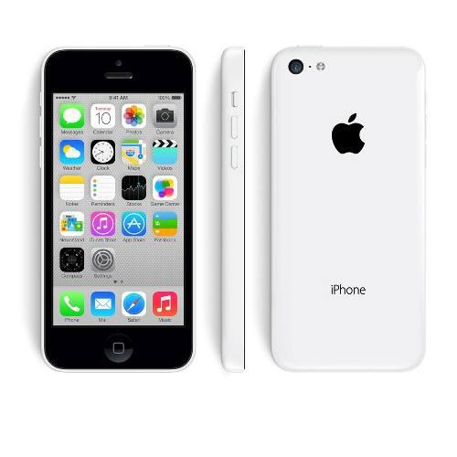 Apple iphone 5c 16gb original libre de fábrica blanco wifi