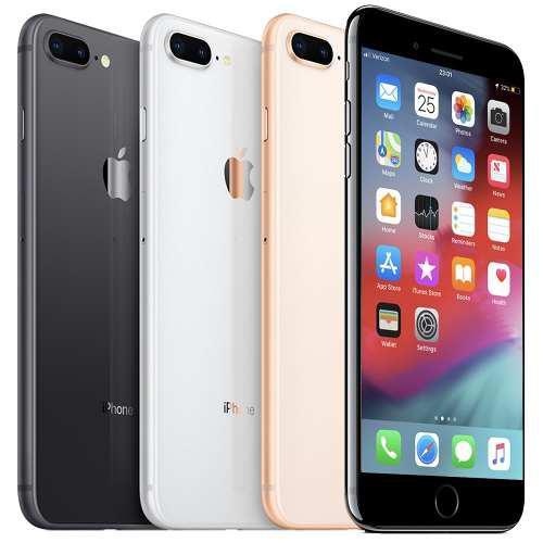Apple iphone 8 plus 64gb +earpods +cable +cubo liberado orig
