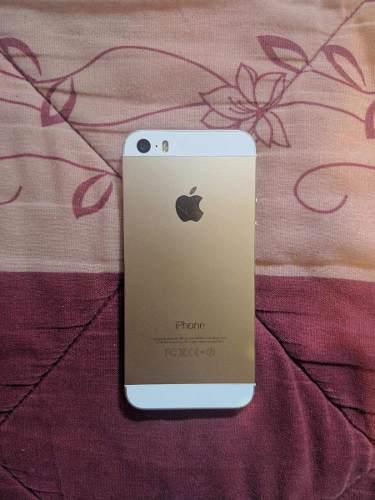 Celular apple iphone 5s dorado de 16gb desbloqueado detalle