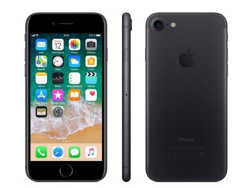 Celular apple iphone 7 256gb 1 año de garantia a msi
