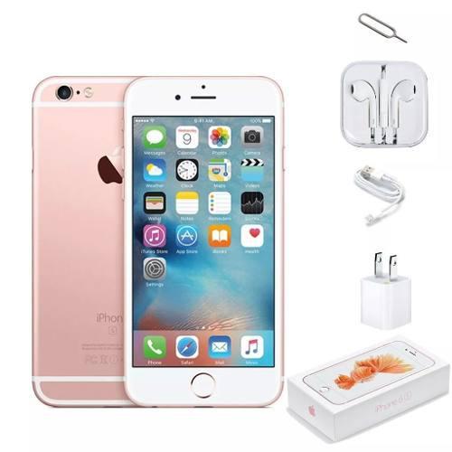 Celulares apple iphone 6s 16gb. rosa gold nuevo caja! meses!
