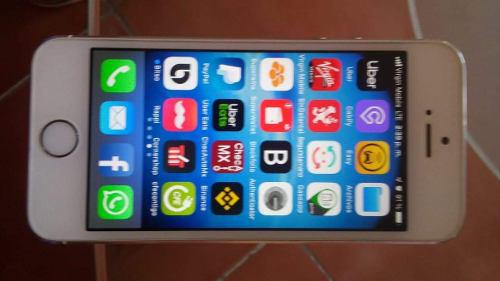 Iphone 5s 16 gb impecable unico dueño
