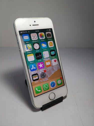 Iphone 5s 16gb plata, libre, sin golpes estetica 8/10.