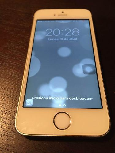 Iphone 5s plata 16gb - disponible! envío gratis!