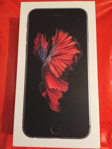 Iphone 6 s. 32 gb, space gray, nuevo y sellado