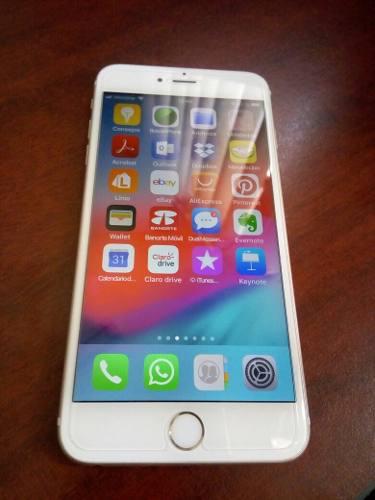 Iphone 6s plus 16 gb, como nuevo, estética de 10,