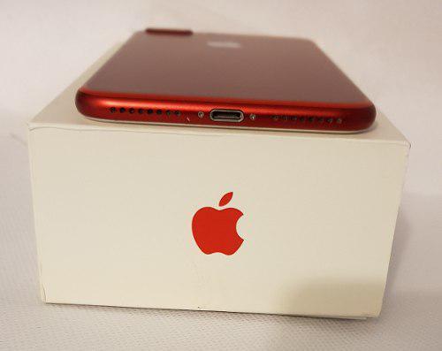 Iphone 7 plus 128 gb rojo desbloqueado original