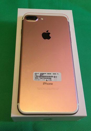 Iphone 7 plus 256 gb nuevo desbloqueado