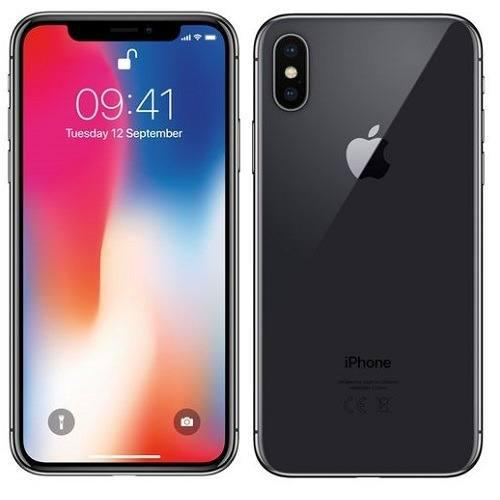 Iphone x(10) gris nuevo en caja 256 gb-- telcel buen precio