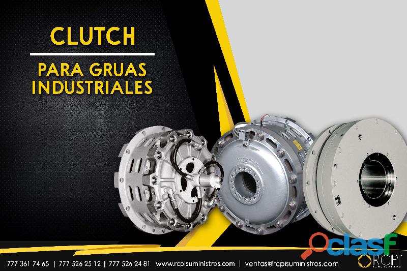 clutch para grúas industriales