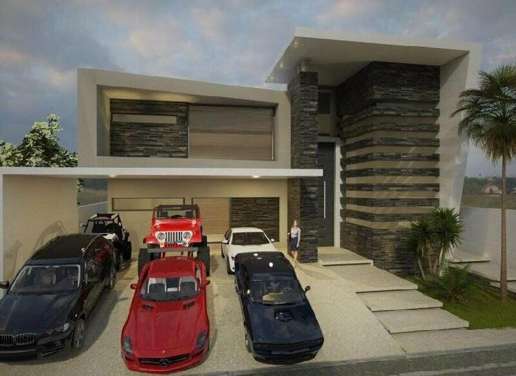Casa en venta en monterrey carretera nacional sierra alta /